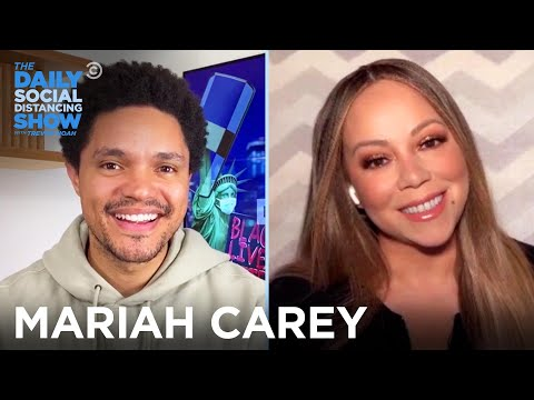 (New) Mariah carey - sharing personal stories in her memoir | the daily social distancing show