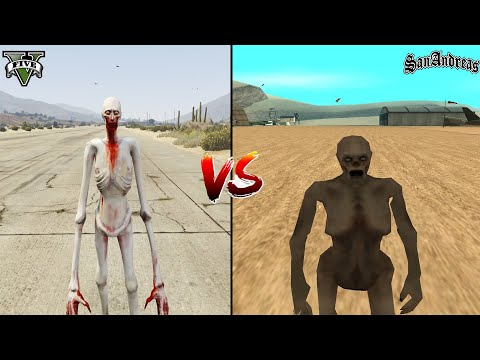 (New) Gta 5 scp-096 vs gta san andreas scp-096 - which is best?