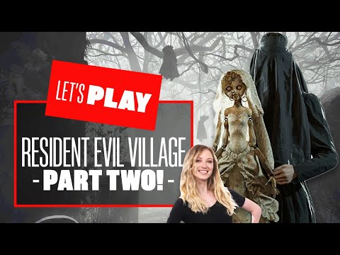 (New) Lets play resident evil village ps5 part two - resident evil village gameplay reaction