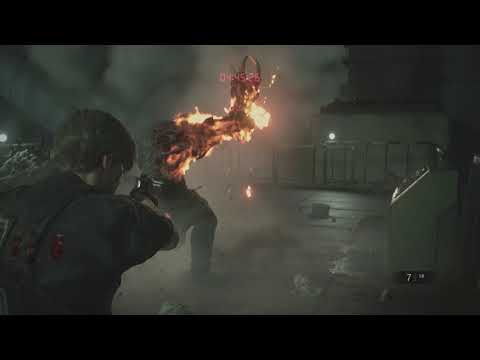 (New) Resident evil 2 remake - escape the lab - end boss fight walkthrough