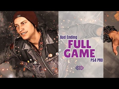 (New) Infamous seconds son [evil karma] walkthrough no commentary [full game] ps4 pro