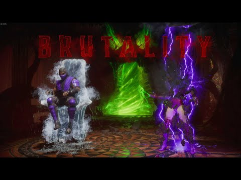(New) Rain - all brutalities - mortal kombat 11 ultimate