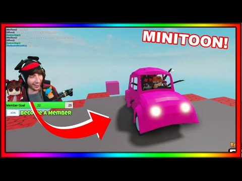 (New) Kreekcraft plays piggy build mode new update with minitoon! (creator of piggy)