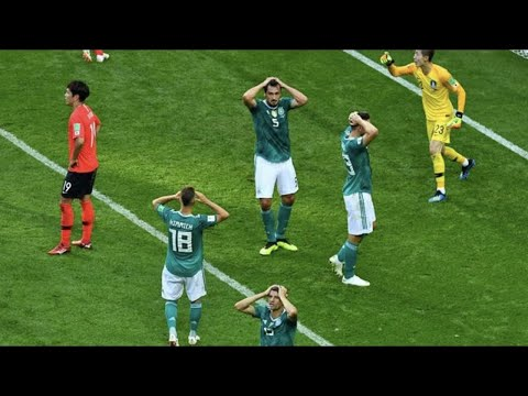 (New) The biggest upsets in world cup history