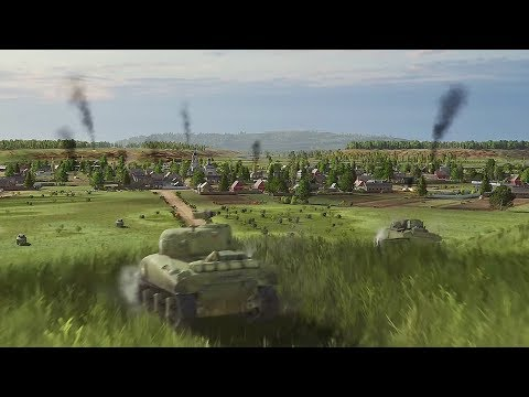 (New) Steel division 2 - trailer e gameplay | new upcoming world war 2 rts game 2019 [pc]