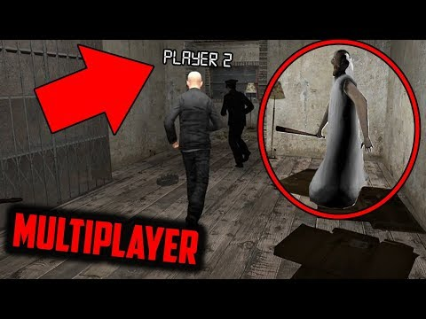 (New) Granny horror game multiplayer with 3 players! (granny horror game roleplay part 2)