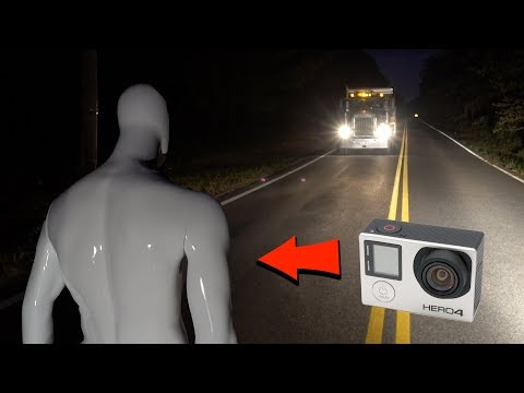 (New) Gopro mannequin footage goes thru phantom truck on clinton road... (we see inside the ghost truck?)