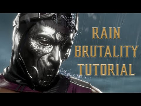 (New) Rain brutality tutorial for mortal kombat 11 - kombat tips