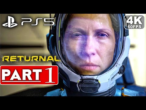 (New) Returnal ps5 gameplay walkthrough part 1 [4k 60fps] - no commentary (full game)