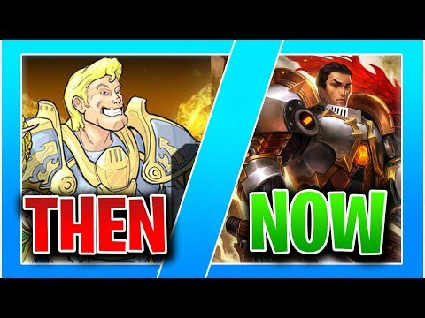 (New) Paladins then vs now - how it used to look like!