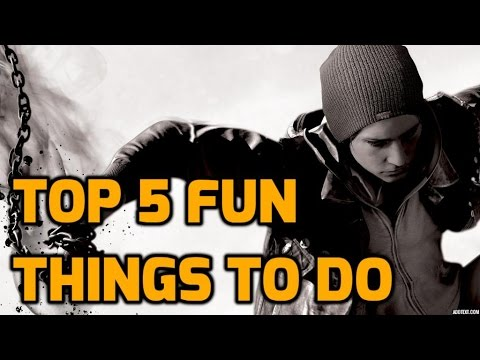 (New) Infamous second son - top 5 fun things to do in free roam!