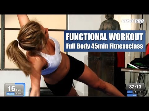 (New) Functional workout 45min full body fitnessclass