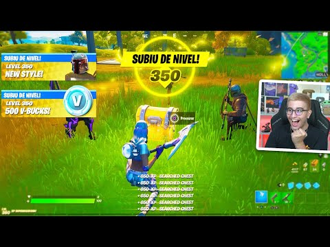 (New) Como chegar no nivel 100 muito rapido no fortnite capitulo 2 (novo bug xp)