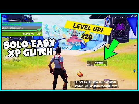 (New) New fortnite xp glitch for everyone - become high rank.. (solo unlimited level up) *fast*