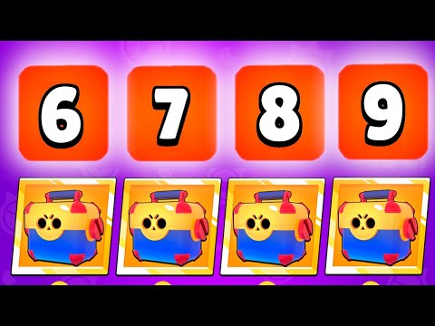 (New) My lucky box opening compilation in all time in brawl stars!