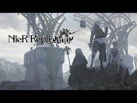 (New) Nier replicant ver.1.22 full walkthrough (all main story missions) ending a (4k 60fps)