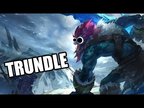 (New) How to play trundle season 6 support - league of legends