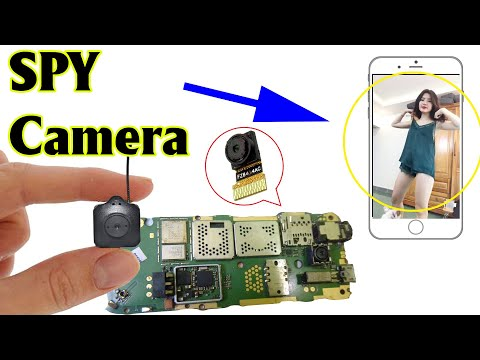 (HD) Make spy camera from old phone   scientific ideas 2020