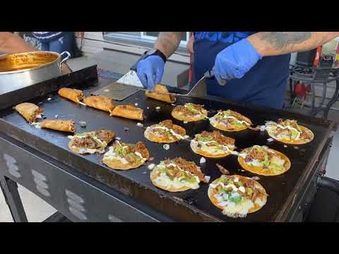 (New) Birria quesa tacos | the best street tacos | blackstone 36 griddle tacos | quesabirria tacos