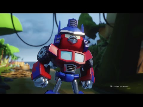 (VFHD Online) Angry birds transformers comic-con trailer