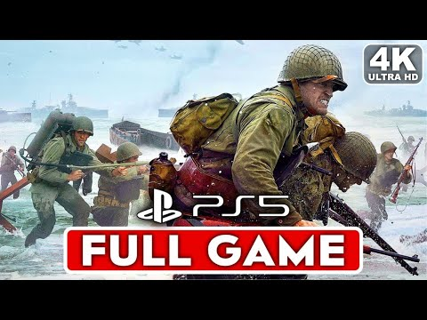 (New) Call of duty ww2 ps5 gameplay walkthrough part 1 campaign full game [4k 60fps] - no commentary