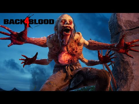 (New) Back 4 blood alpha gameplay w gameattack, boon, petah