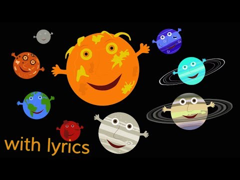 (Ver Filmes) The solar system song (with lyrics)