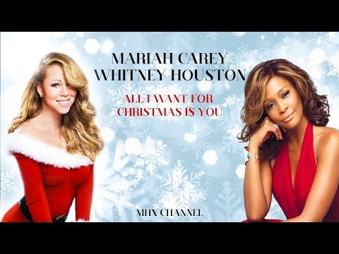 (VFHD Online) Mariah carey ft whitney houston - all i want for christmas is you ( unreleased version )