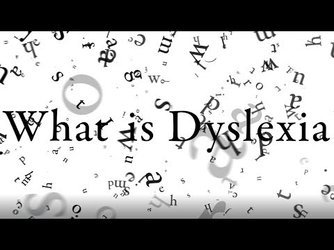 (HD) What is it like to be dyslexic? - university project - dyslexia simulation