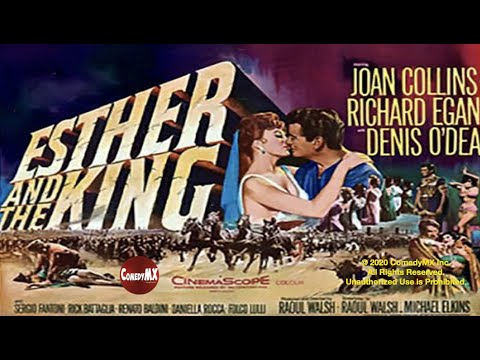 (New) Esther and the king (1960) | full movie | joan collins | richard egan | denis odea