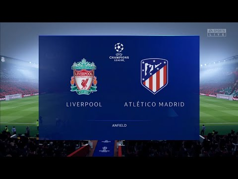 (New) Fifa 20 predicts: champions league round of 16 | liverpool vs atletico madrid