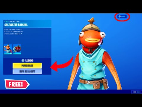 (New) New fortnite how to get fishstick skin for 100% free (not clickbait!) working 2020!