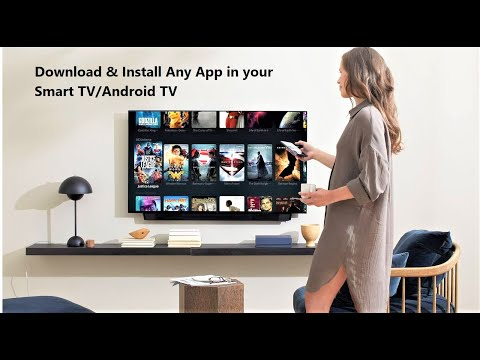 (New) How to install any app in smart tv that is not available in your tv store