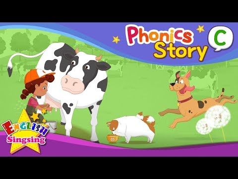 (VFHD Online) Phonics story c - english story - educational video for kids