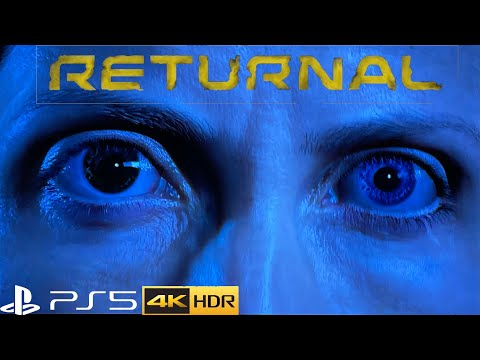 (New) Returnal gameplay intro e death - ps5 4k hdr ray-tracing -