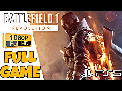 (New) Battlefield 1 [ps5-hdr full game walkthrough no commentary ita] gioco completo