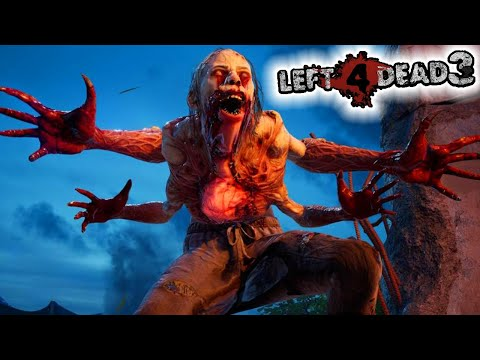 (New) Left 4 dead 3 - full alpha gameplay live!!! (back 4 blood)