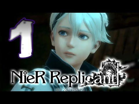 (New) Nier replicant walkthrough part 1 (ps4) remaster - no commentary