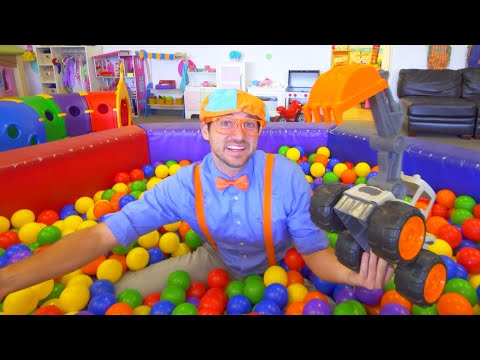 (Ver Filmes) Blippi fun and learning at indoor playground for kids | educational kids videos | 1 hour of blippi