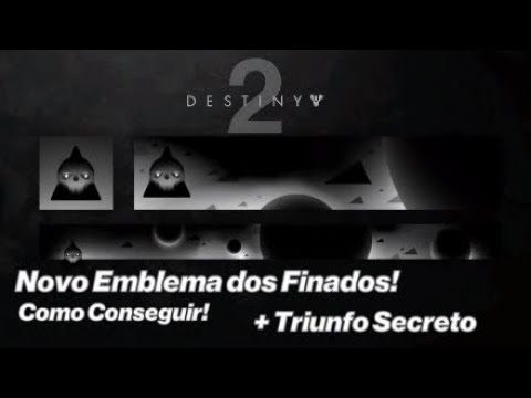 (New) Emblema novo, mais triunfo secreto!| destiny 2