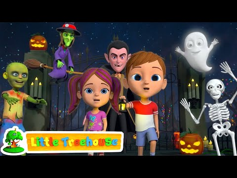 (Ver Filmes) Its halloween night | fun halloween kids cartoon | kindergarten nursery rhymes by little treehouse