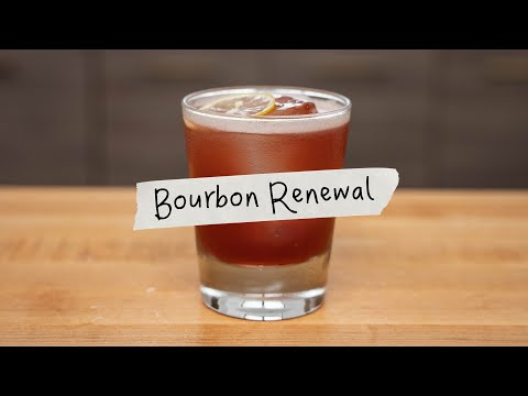 (New) Fall in a glass, the bourbon renewal