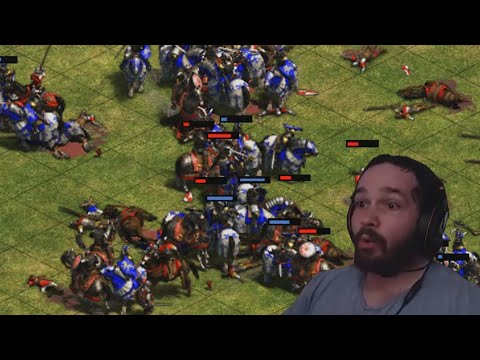 (New) My first online ranked 1v1 in age of empires 2