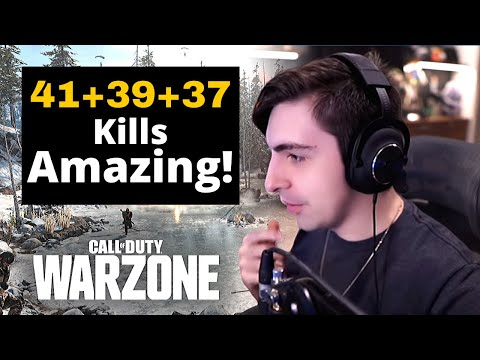 (New) Team shroud warzone amazing gameplay 117 kills | cod warzone [2020]
