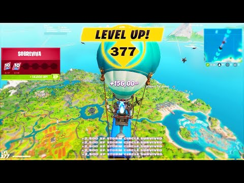 (HD) Fortnite como upar rapido level 250! xp hack glitch