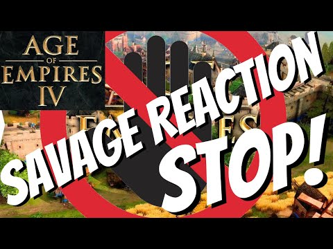 (New) Age of empires iv | savage reaction to gameplay trailer