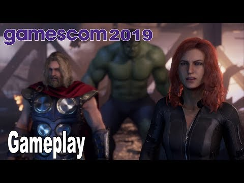 (New) Marvel's avengers - a-day demo gameplay [4k 2160p]