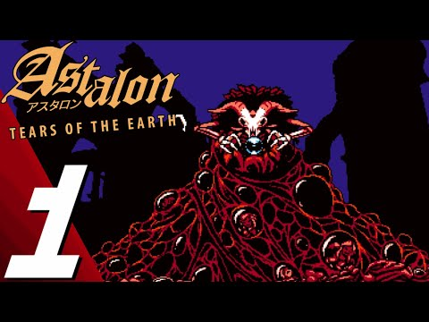 (New) Astalon: tears of the earth   full game part 1 gameplay walkthrough (no commentary)