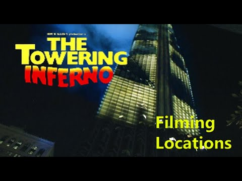 (New) Towering inferno 1974 ( filming location ) steve mcqueen paul newman