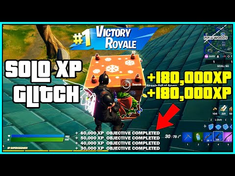 (New) *solo xp glitch* fortnite season 5 how to level up fast! (new unlimited xp) *chapter 2 fast*